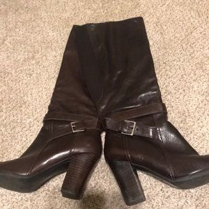 Marc Fisher knee high boots